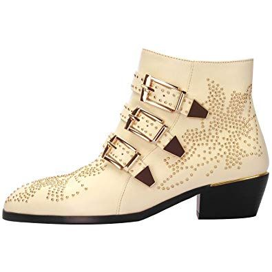 Studded shoes for women Amazon.com | Comfity Boots for Women .