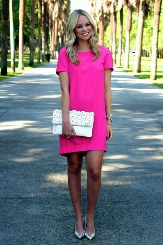 20 Style Inspiration with Pink Dress on December! | Little pink .