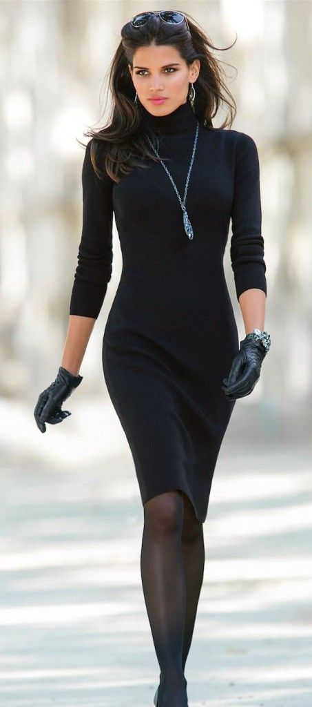 20 Stylish Black Outfit Ideas for Your Holidays - Outfit Ideas HQ .