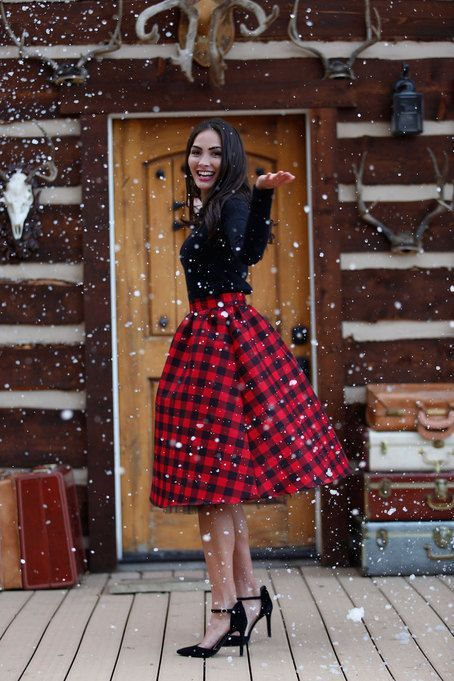 Totally Loving Buffalo Plaid For Christmas! - B. Lovely Events .