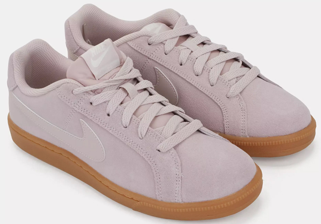 Suede shoes for women
