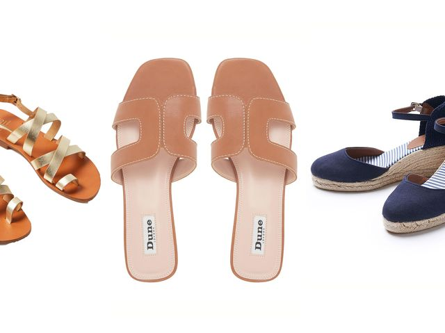 The best summer shoes - from sandals and flip flops to espadrilles .