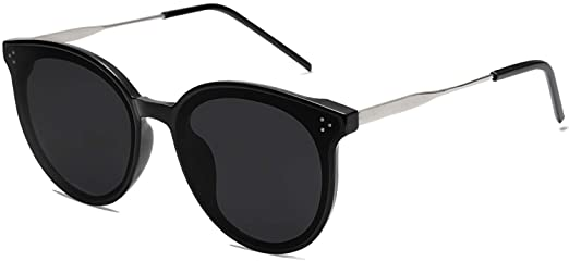 Amazon.com: SOJOS Fashion Round Sunglasses for Women with Rivet .