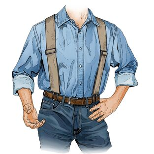 Men's Perry Original Y-back Suspenders | Duluth Trading Compa