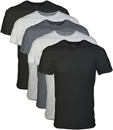 Gildan Men's Crew T-Shirt Multipack | Amazon.c