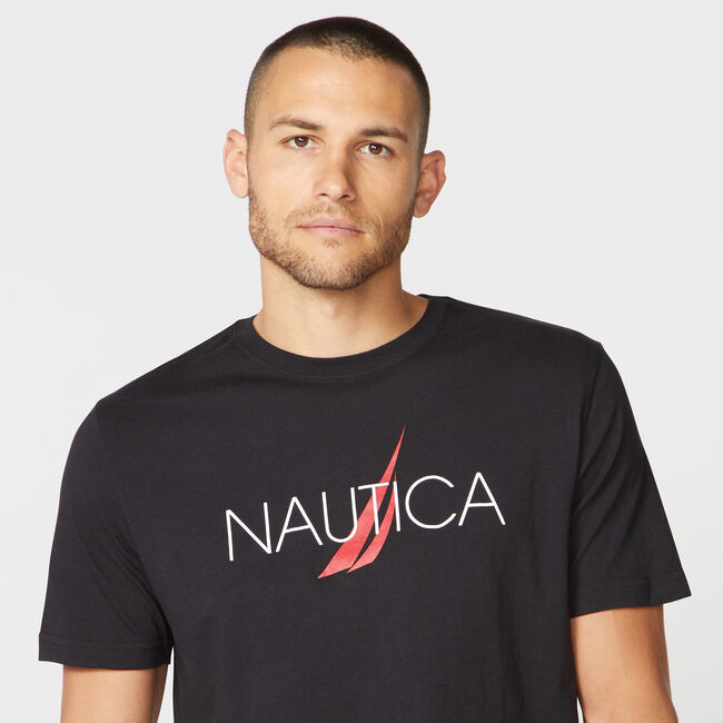 NAUTICA LOGO SLEEP T-SHIRT | Nauti