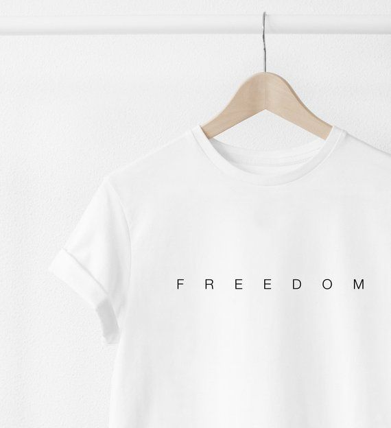 T shirts with text prints