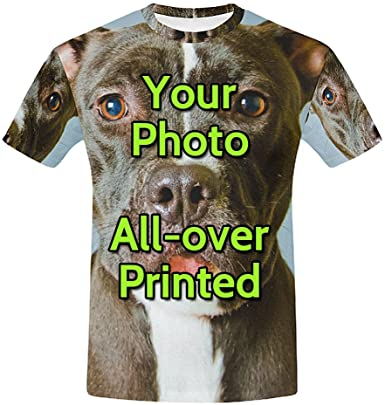 Amazon.com: Personalized Custom T Shirts Design Your Own Picture .