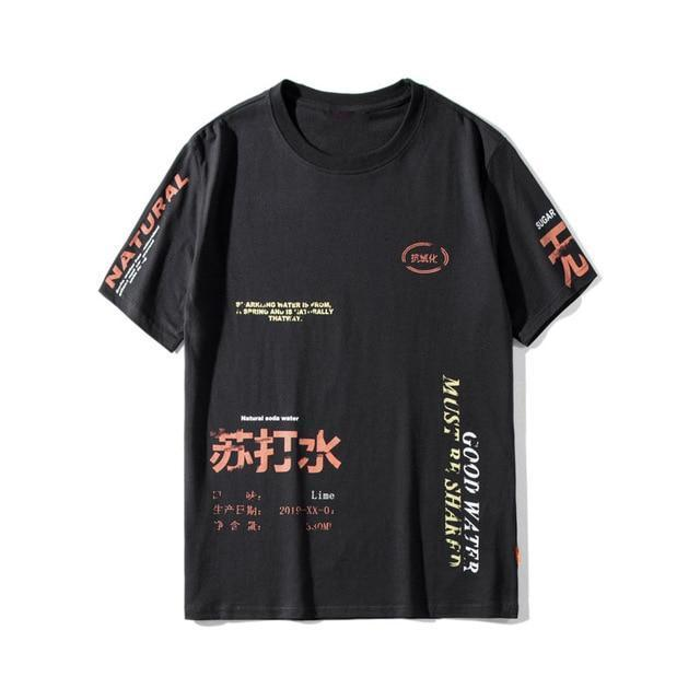 Text Print Graphic T-Shirt | Streetwear at Before the High Stre