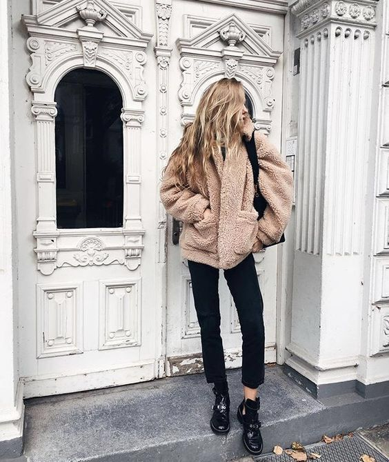 4 Stylish Ways To Wear A Teddy Coat This Winter | Cappotti .
