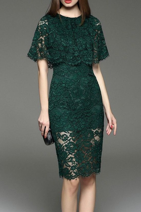 20 Lace Dress Designs To Inspire Your Next Dress | Lace dress .