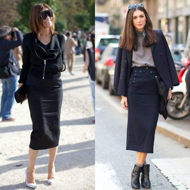 55 Amazing Outfits With Black Pencil Skirts | Style & Tips .