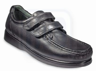 Nature's Stride Virginia Therapeutic Shoes for Women - Black .