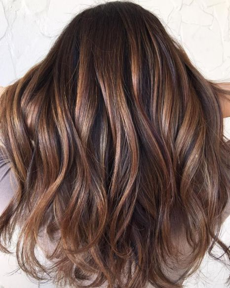 Tiger Eye Hair Color 58 | Brown hair balayage, Tiger eye hair .