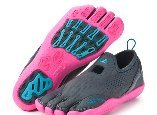 Fila Men's or Women's Water Drainage Skele-Toes Shoes Only $19.99 .