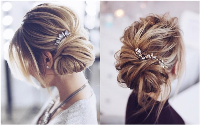 Tonyastylist Wedding Updo Hairstyles for Bride