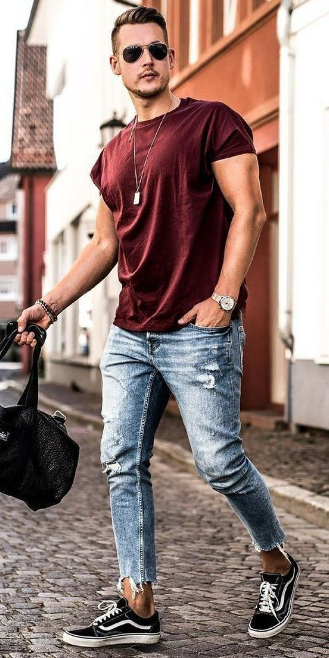 33 Best Men's Spring Casual Outfits Combination | Moda masculina .