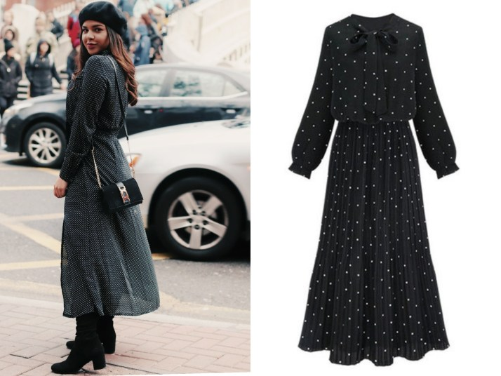 The Print that all fashion bloggers are wearing right now: POLKA DOT