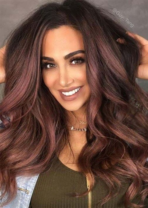50 Top Trendiest Hair Color Ideas For Brunettes (With images .