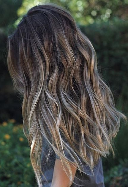 Best Fresh Hair Colour Ideas for Dark Hair - PoPular Haircuts .