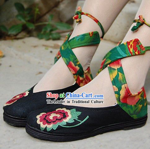 Chinese Traditional Cloth Dance Shoes for Women | Chinese .