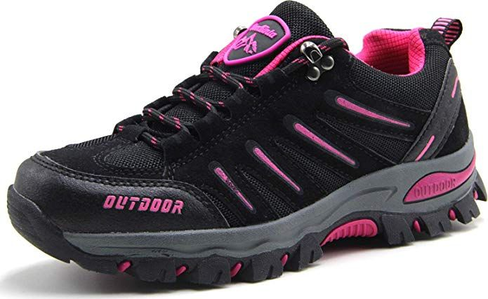 BomKinta Women's Hiking Shoes Anti-Slip Lightweight Breathable .
