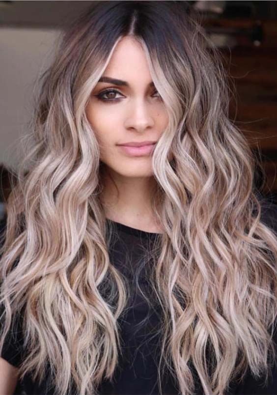 22 Best Balayage Hair Color Trends for Long Hair in 2019 .