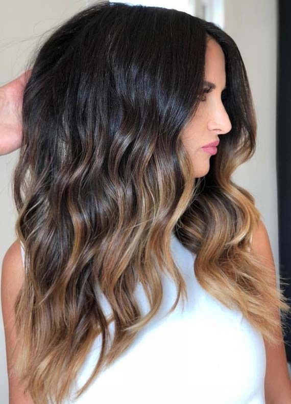Trend Color Balayage For Woman | Sombre hair col
