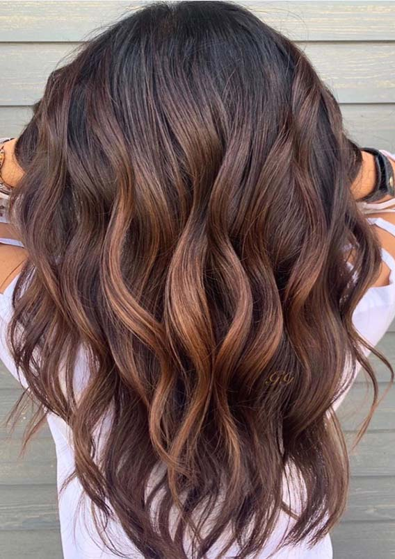 Adorable Brunette Balayage Hair Color Trends for Women 2019 .