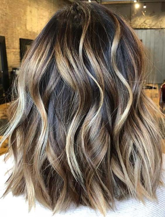30 Natural Balayage Ombre Hair Color Trends for 2018 | StylesCue .