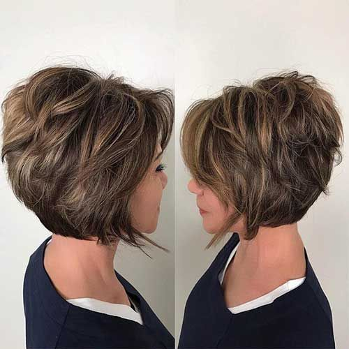 10 Trendy Haircuts for Women over 50 - Female Short Hair 2020 .