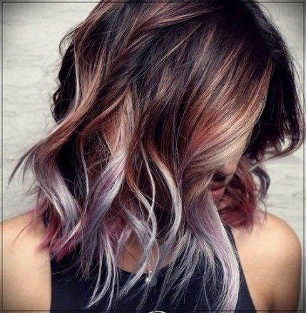 54+ best Ideas for hair color ideas for brunettes for summer fun .