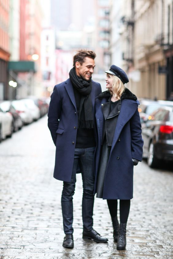 Chic Casual Winter Outfits for Stylish Couples 2016-2017 | PIN .
