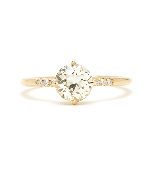 One of a Kind Engagement Rings | Simple Solitaire - Antique .