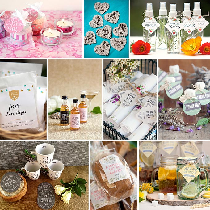 10 Unique Wedding Favor Ideas - Wedding Inspirati