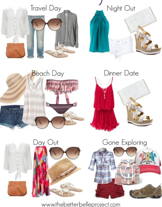 Ready, Set, Break: Spring Break Packing List | Spring break .