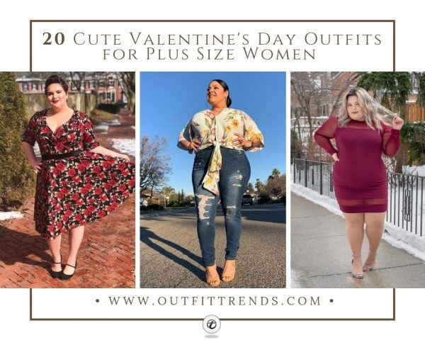 20 Cute Valentine's Day Outfits for Plus Size Women In 20