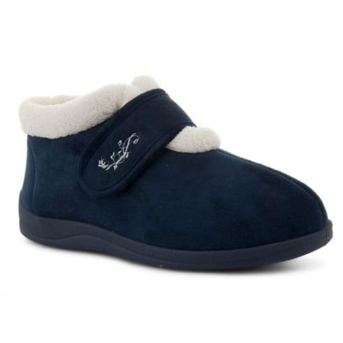 Velcro slippers for women in 2020 | Slippers, Shoe laces, Navy .