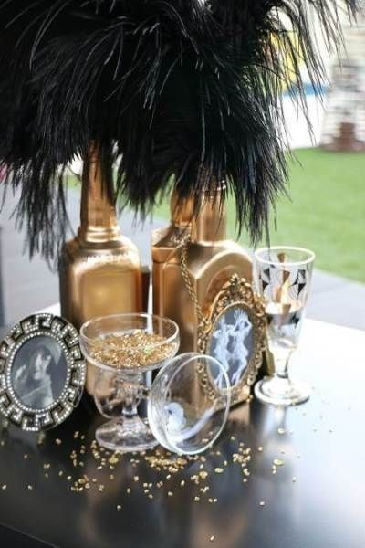 15 Vintage Party Decoration With Great Gatsby Theme That Awesome .