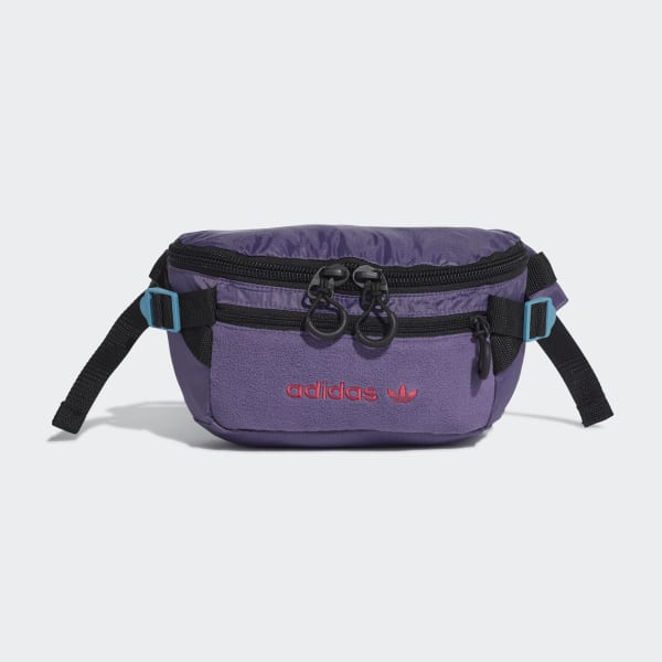 adidas Premium Essentials Waist Bag Large - Purple | adidas