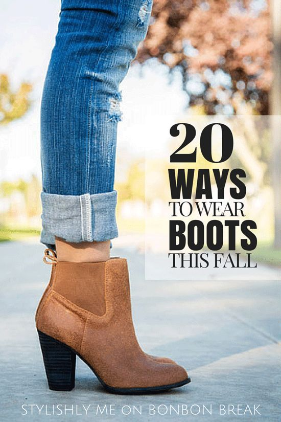 20 Ways to Wear Boots | Cute boots, Fashion, Sty