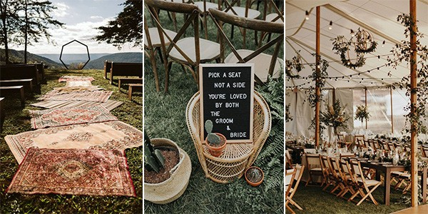 20 Bohemian Wedding Decoration Ideas to Inspire Your Big Day .