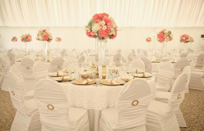 Simple Table Decorating Ideas for Wedding Receptions | LoveToKn