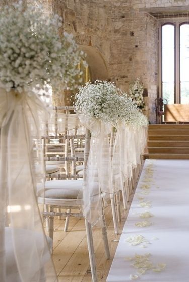 Beautiful ideas for your wedding ceremony venue decor | Babys .