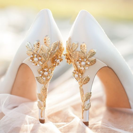 32 Floral Wedding Shoes Ideas For Spring And Summer Nuptials .