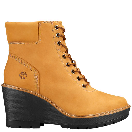 Women's Kellis Wedge Ankle Boots | Timberland US Sto