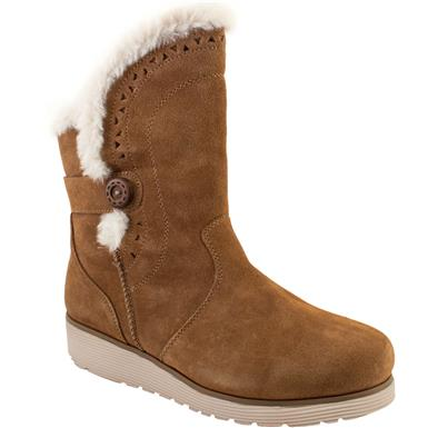 Skechers Keepsakes Wedge Cozy P | Women's Comfort Winter Boots .