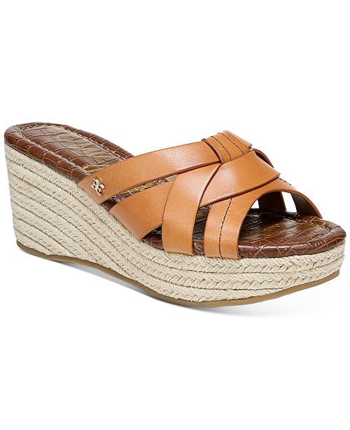 Sam Edelman Women's Ramona Wedge Sandals & Reviews - Sandals .