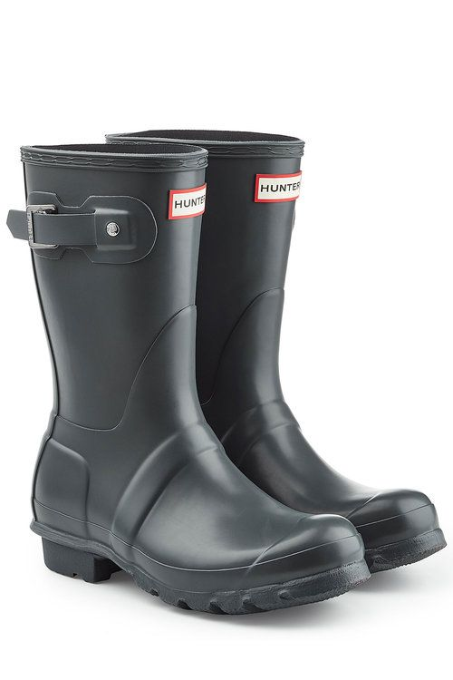 Hunter Original Short Wellington Boots | ModeSens | Boots, Hunter .