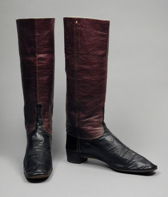 Pair of Man's Dress Wellington Boots | LACMA Collections | Boots .
